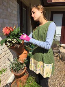 Gardening Pattern Smock